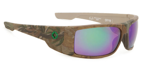 SPY Konvoy Real Tree Happy Bronze Green Spectra Polarized Sunglasses 673181986861 - SURF WORLD Florida