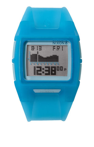 Nixon Lowdown 2 Translucent Blue Tide Watch A2891781 - SURF WORLD Florida