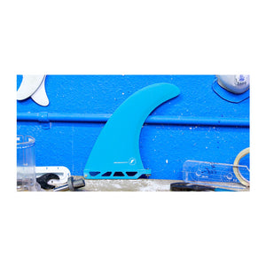 Futures Performance 8.0 Fiberglass Fins - Solid Teal Transparent Teal SURF WORLD
