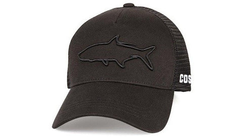 Costa Stealth Tarpon Black Hat 3d Marlin Embroidery  New 2017