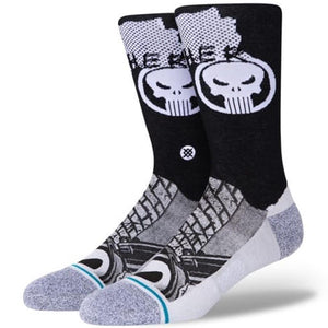 Stance The Punisher Men's Socks Black - L 9 -12