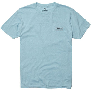 Vissla South Point Mens T Shirt - Glass Heather