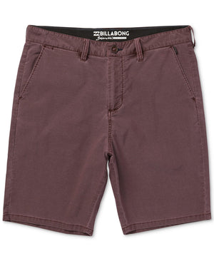 Billabong Mens New Order X Overdye Submersible Shorts - Rum SURF WORLD