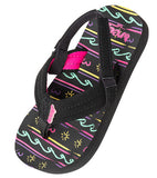 Reef Kids Little Ahi Black Waves - SURF WORLD Florida