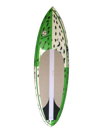 Skinner 8'6 x 30.75 Brushed Carbon Wood-chuck SUP Surf Model light weight 86-Skinner-CarbonSUP - SURF WORLD  - 1