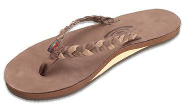 Rainbow Sandals Women's Twisted Sister Expresso Topsole Dark Brown Double 301ALDBSEXDBL - SURF WORLD Florida