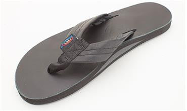 Rainbow Sandals Women's Classic Leather Black Single Layer Wide Strap 301ALTS0TTBKL - SURF WORLD Fort Lauderdale Florida