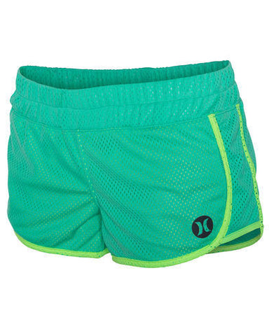 Hurley Dri-Fit Mesh green Beach Rider Shorts GAB00006703KT - SURF WORLD Florida