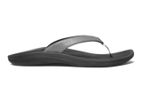 Olukai Women's Kulapa Kai Charcoal Black Sandal - SURF WORLD Fort Lauderdale Florida