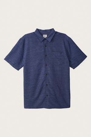 Jack O'Neill Shadowvale Shirt-  Pacific Blue