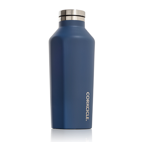 Corkcicle Canteen 16oz Matte Blue Steel - SURF WORLD Fort Lauderdale Florida