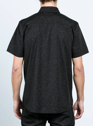 Volcom Smashed Star Shirt - Black - SURF WORLD Fort Lauderdale Florida