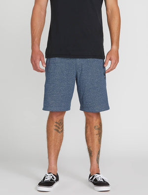 Volcom Chiller Fleece shorts - Smokey Blue