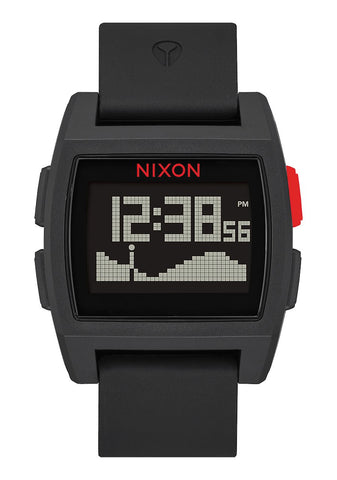 Nixon Base Tide Watch - Black Red