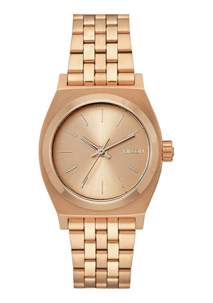 Nixon Medium Time Teller Watch - All Gold
