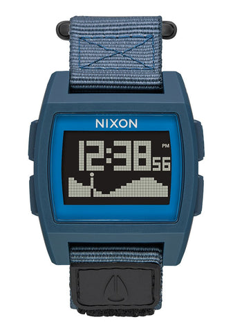 Nixon Base Tide Nylon Watch - Navy