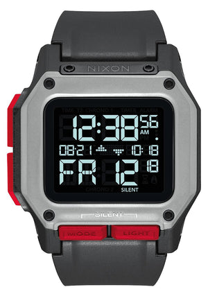 Nixon Regulus Watch - Black/ Red