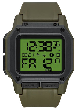 Nixon Regulus Digital Watch - Surplus Carbon SURF WORLD