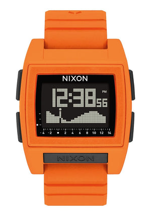 Nixon Base Tide pro Watch  - Orange SURF WORLD