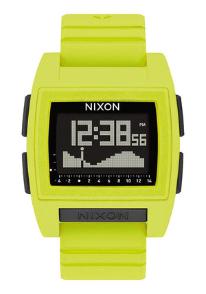 Nixon Base Tide pro Watch  - Lime SURF WORLD