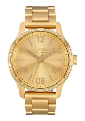 Nixon Patrol SS All Gold Watch