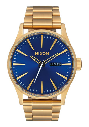 Nixon Sentry SS - All Gold Blue Sunray