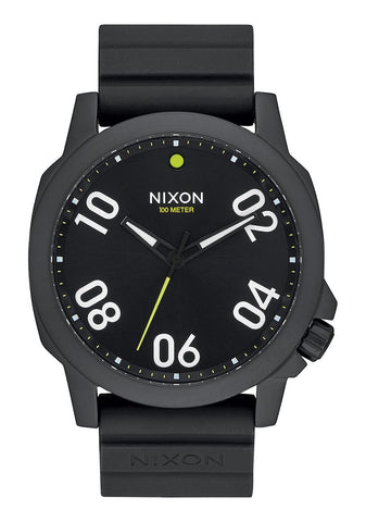 Nixon Ranger 45 Sport All Black Watch A957 001 - SURF WORLD Florida