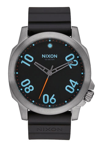 Nixon Ranger 45 Sport Gunmetal / Multi WATCH A957 1698 - SURF WORLD Florida