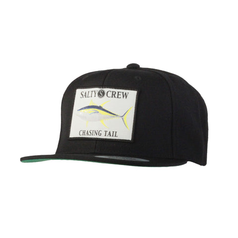 Salty Crew Ahi Patched Snapback - Black - SURF WORLD Florida