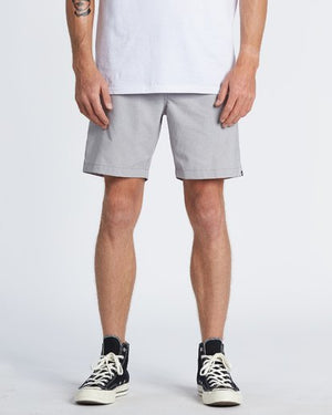 Billabong Surftrek Performance Walkshorts - Alloy Heather
