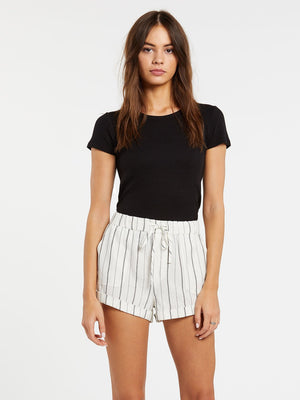 Volcom Sunday Strut Shorts - Black Stripe