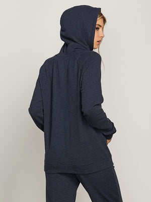 Volcom Women's Lil Hoodie - Sea Navy SURF WORLD