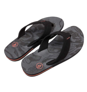 Volcom Victor Mens Sandal - Black Rinser SURF WORLD