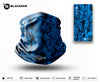 Blockade UPF Neck Gaiter - Blue Water Camo