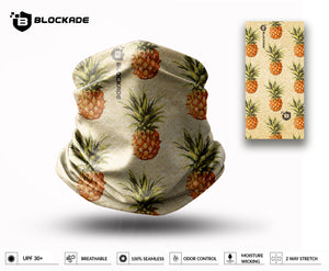 Blockade UPF Neck Gaiter - Linen Pineapple