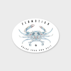 Flomotion Blue Crab Sticker