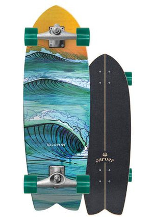 Copy of Carver 29 Swallow CX Complete Longboard Skateboard SURF WORLD