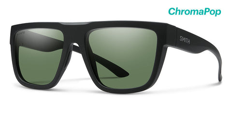 Smith The Comeback Matte Black ChromaPop Polarized Lens Sunglasses