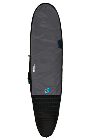 Creatures Of Leisure 7'6 Longboard Day Use Boardbag - Charcoal Cyan SURF WORLD