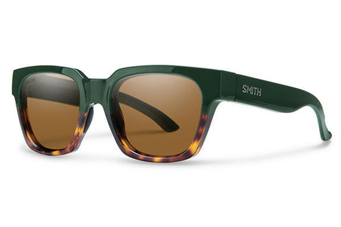Smith Comstock Olive Green Tort Polarized Brown Lens Sunglasses - SURF WORLD Fort Lauderdale Florida