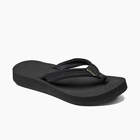 Reef Cushion Breeze Black Black Womens Sandal - SURF WORLD Fort Lauderdale Florida