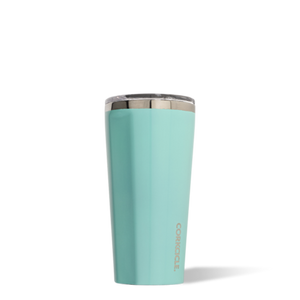 Corkcicle 16oz Tumbler in Turquoise  2116GT SURF WORLD