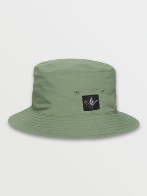 Volcom Vee Line Reversible Bucket Hat - Cactus Green