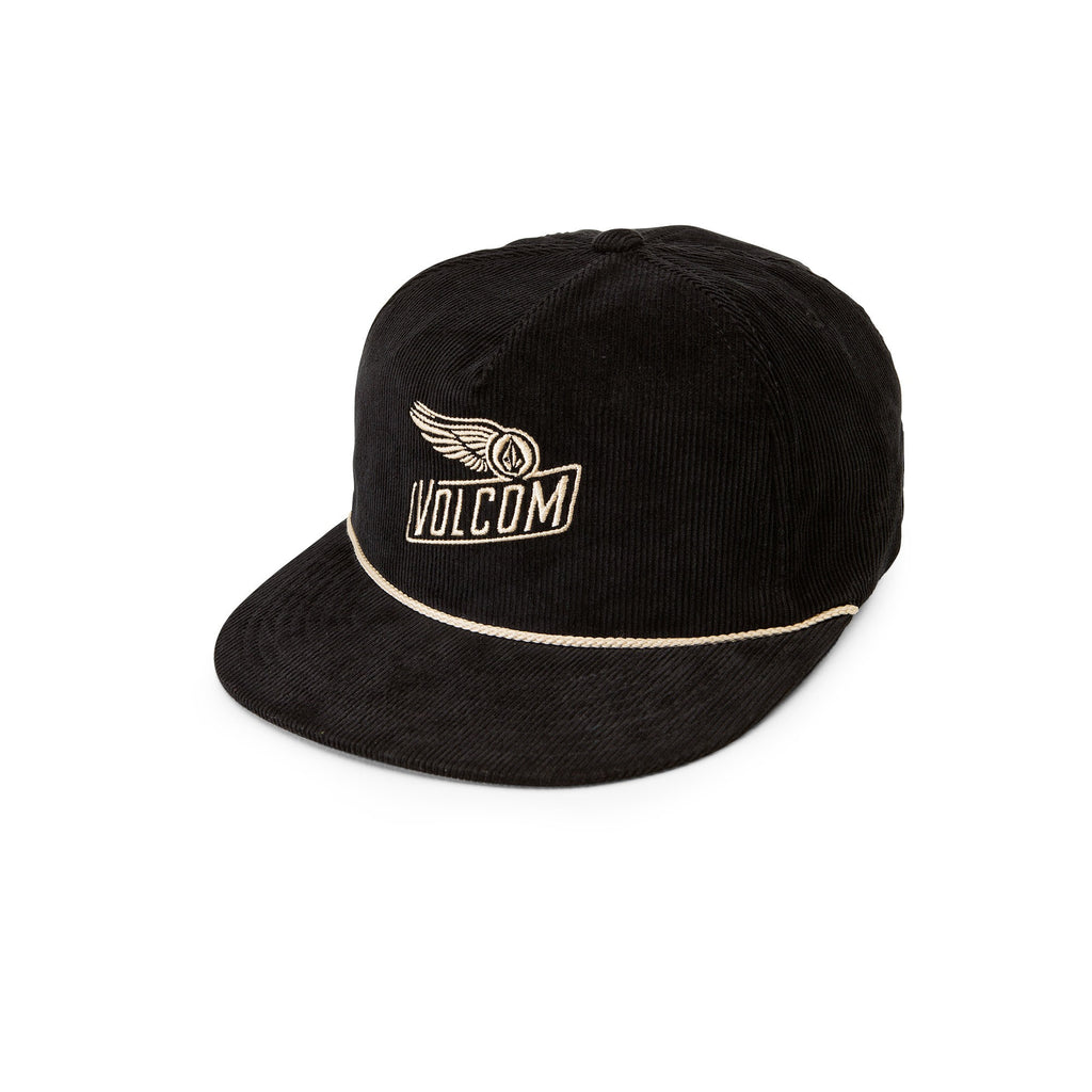 Volcom Stone Wing Black Corduroy Snapback Hat D5541607-BLK – SURF WORLD 1bf9310a23f