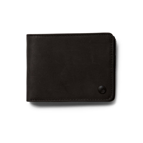 Volcom Corps Premium Wallet Black - SURF WORLD