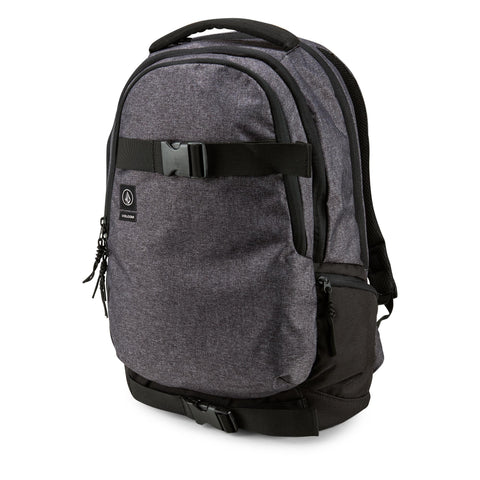 Volcom Vagabond Stone Ink Black Backpack - SURF WORLD Fort Lauderdale Florida