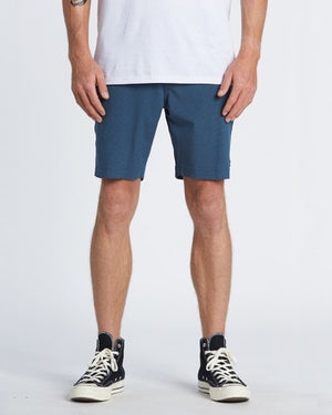 Billabong Crossfire X Mid Submersible Mens Walkshort - Deep Sea