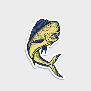 Flomotion Dorado Mahi Mahi Sticker SURF WORLD