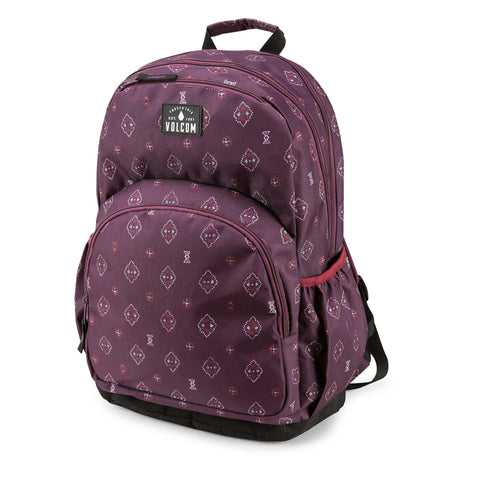 Volcom Fieldtrip Poly Backpack - Plum