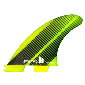 FCS II Carver Neo Glass Large Tri Fins - Acid Gradient